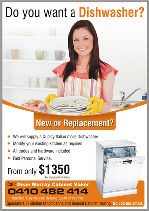 Kitchen Flyer Design 650937