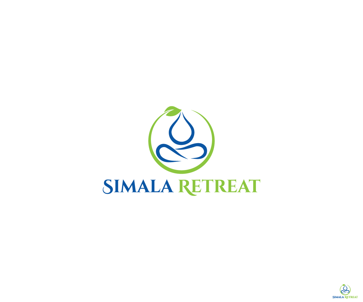 Building Logo Design For Simala Retreat Between The Vines Between
