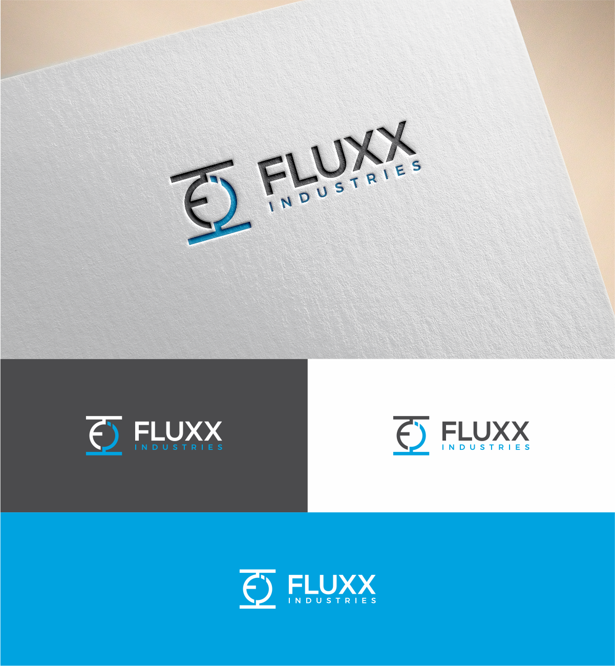 Modern professional electrical logo design for fluxx industries by logo design by mkr for fluxx electrical design 17527548 colourmoves
