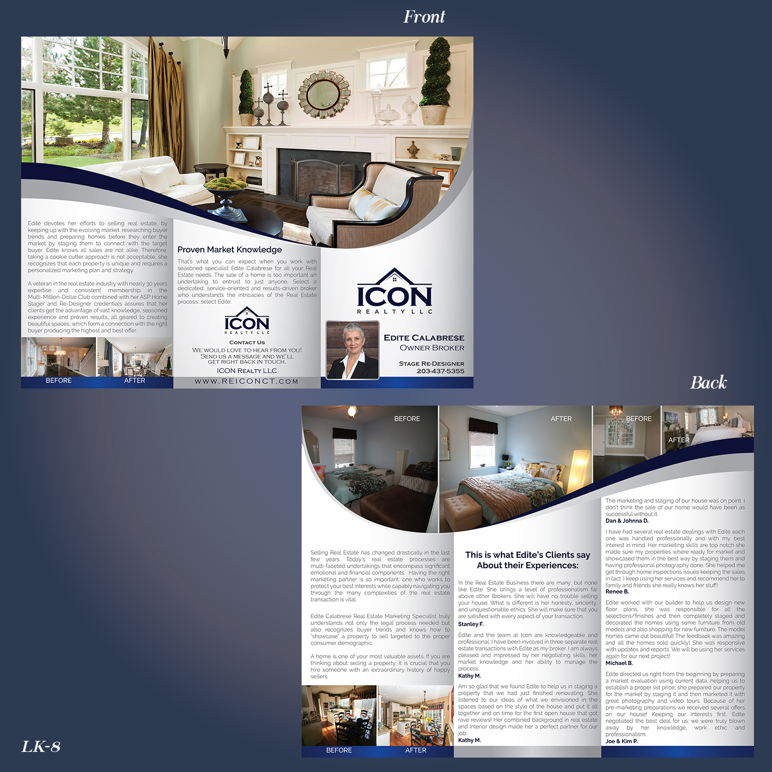 5e80015e24c Flyer Design by Designanddevelopment for ICON Realty LLC | Design #17574478