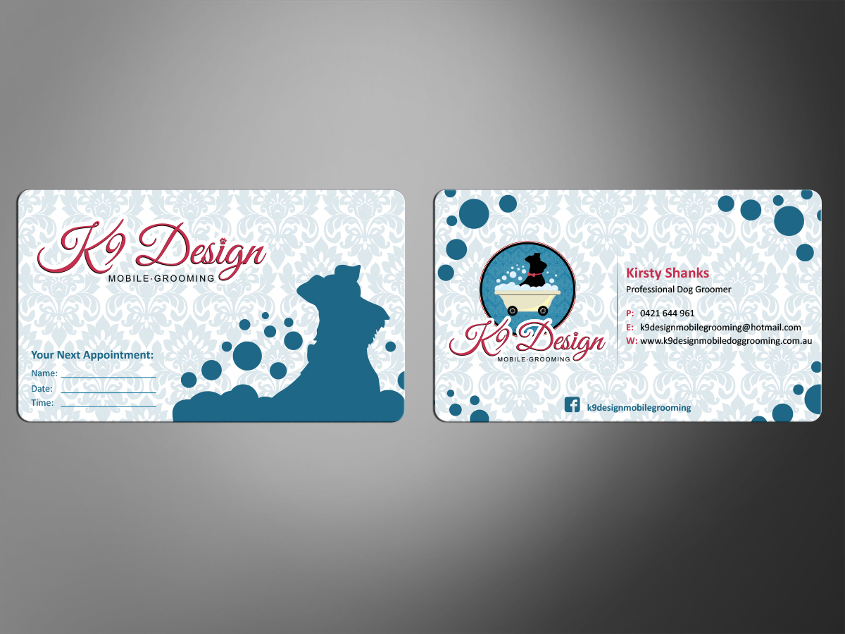 Dog Grooming Business Cards | Unlimitedgamers.co