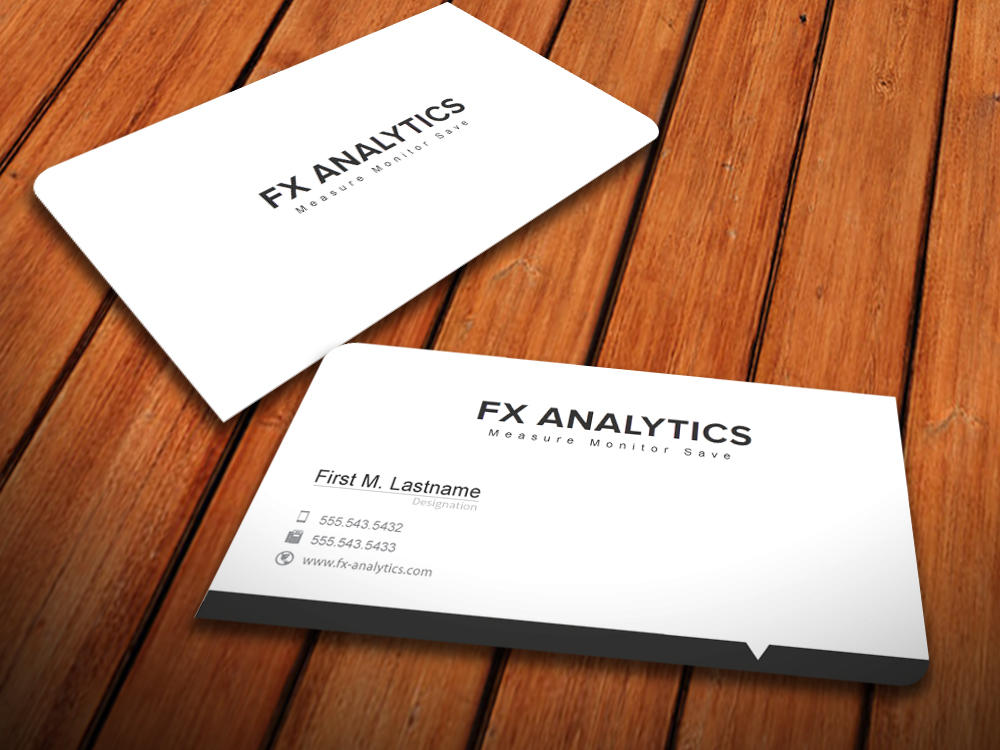 Business Business Card Design for FX Analytics by MediaProductionArt ...
