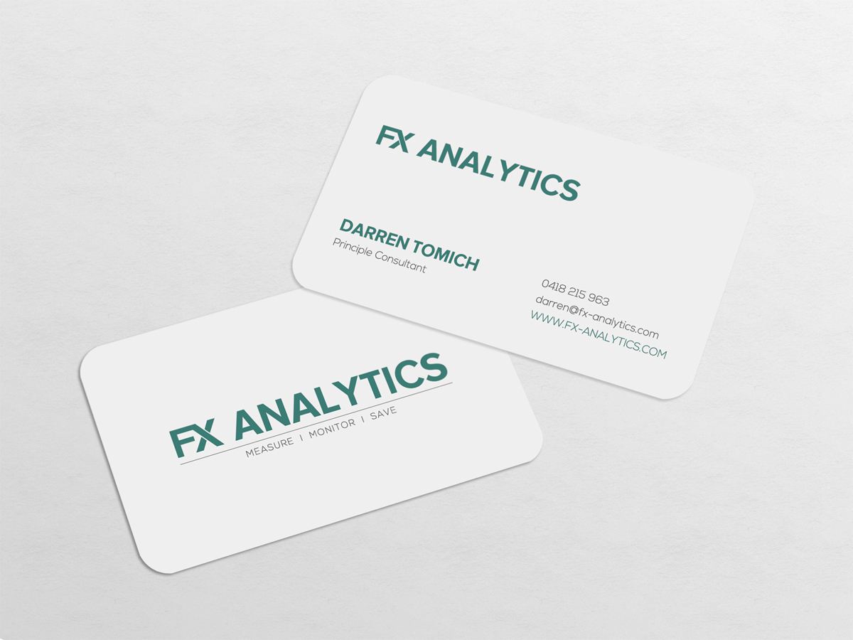 Business Business Card Design for FX Analytics by diRtY.EMM | Design ...