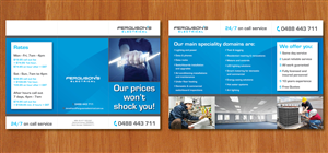 Brochure Design by Ekanite - Ferguson's Electrical