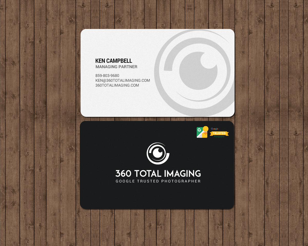 Elegant, Playful, Photographer Business Card Design for Felling by ...