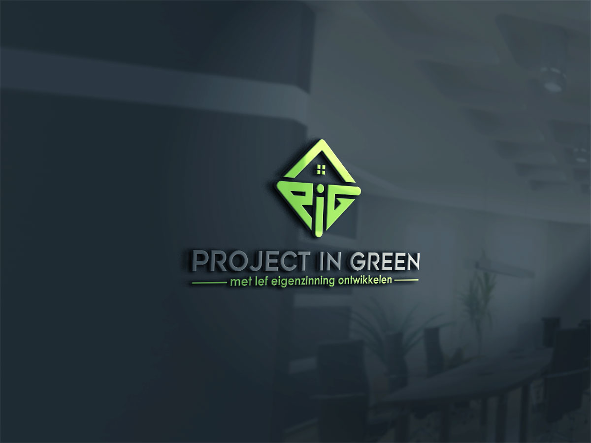 Elegant modern real estate development logo design for project in