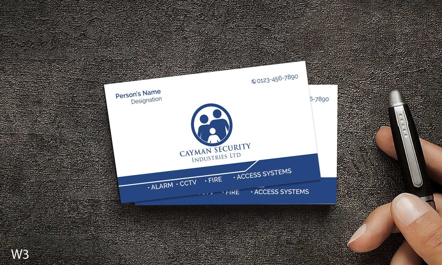 Bold, Serious, Security Business Card Design for Cayman Security ...
