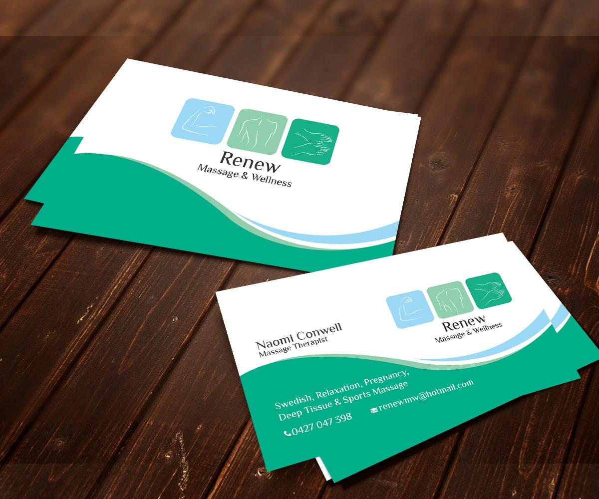 41 Modern Business Card Designs | Massage Business Card Design ...
