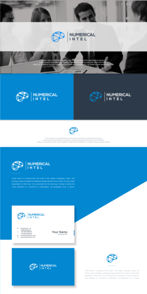 'Numerical Intel' 'Utilising Intel' or any proposed abstract Accountancy business names.  | Logo Design by Optimistic_Studio