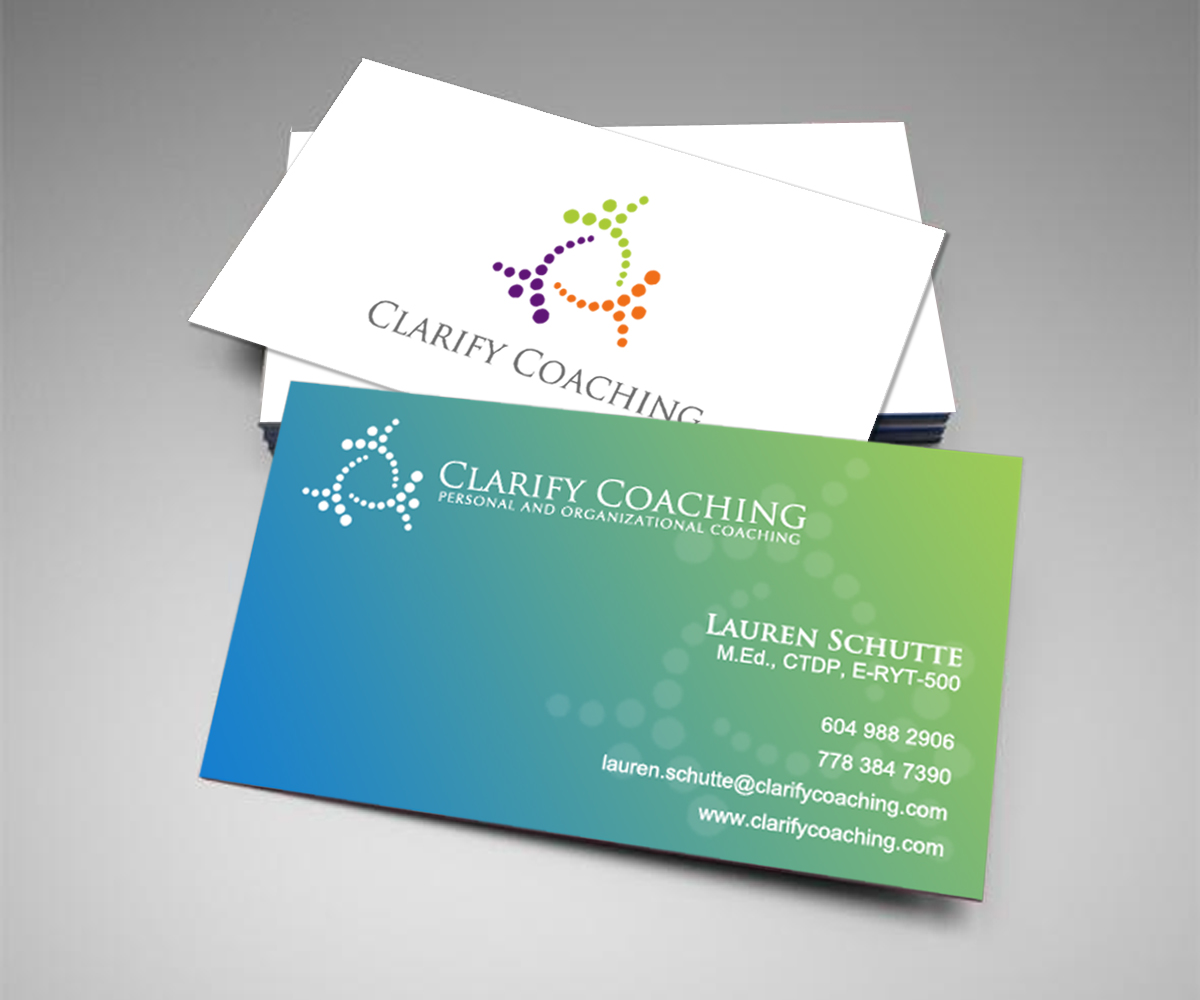 Elegant playful business logo and business card design for clarify elegant playful business logo and business card design for a company in canada design 2772477 reheart Gallery