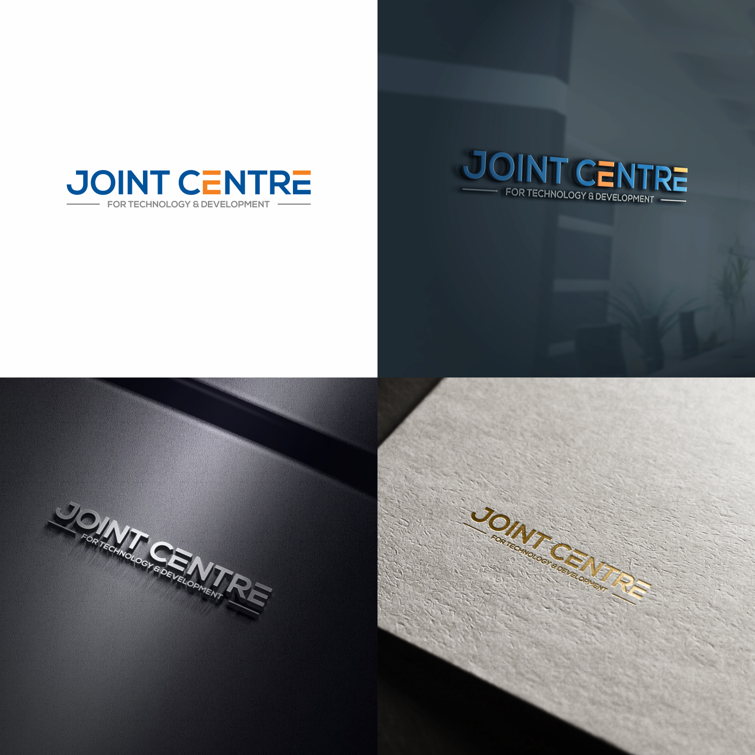 Serious, Modern Logo Design for Joint Centre for Technology