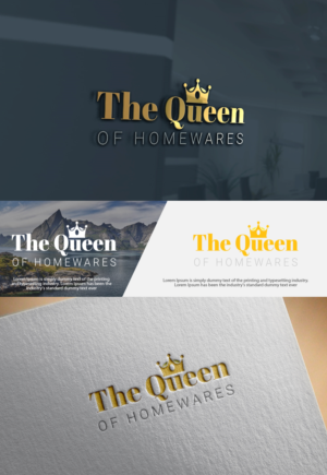 31 upmarket playful royal logo designs for the queen of homewares logo design design 17611153 submitted to we are a homewares store specialising in reheart Gallery