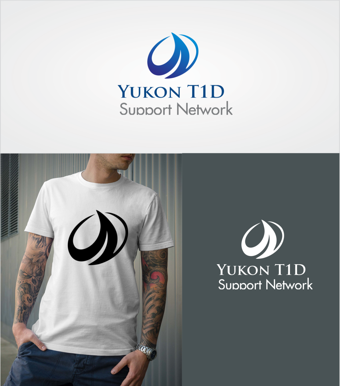 Bold, Serious, Non Profit Logo Design for Yukon T1D Support Network ...