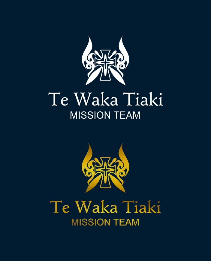 Bold Serious Religious Logo Design For Mercy Te Waka Tiaki Or