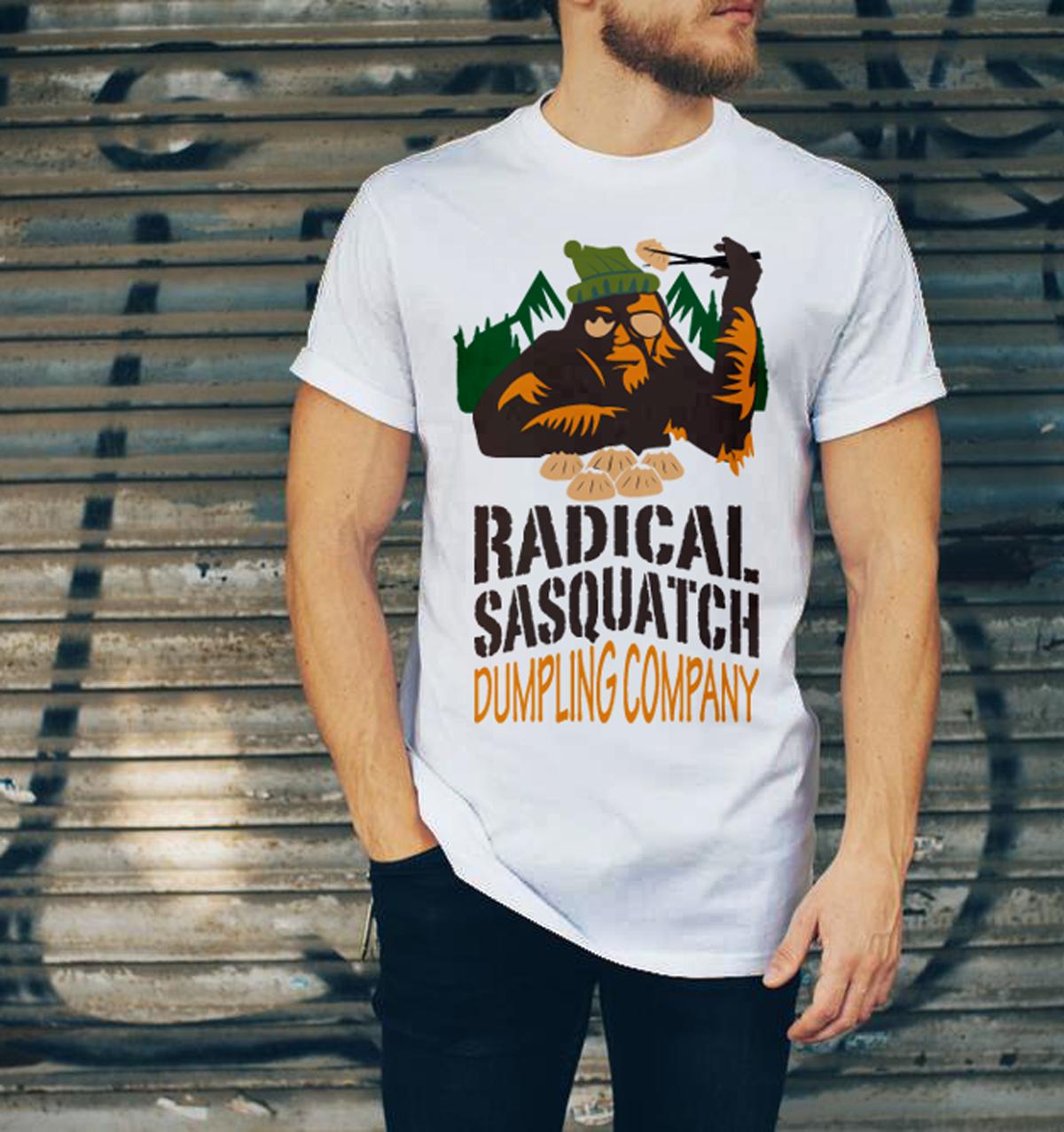 Bold playful food service t shirt design for radical for T shirt design service