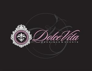 Logo Design job –    Logo Design Wedding & Events ( Dolce Vita ) – Winning design by Luis
