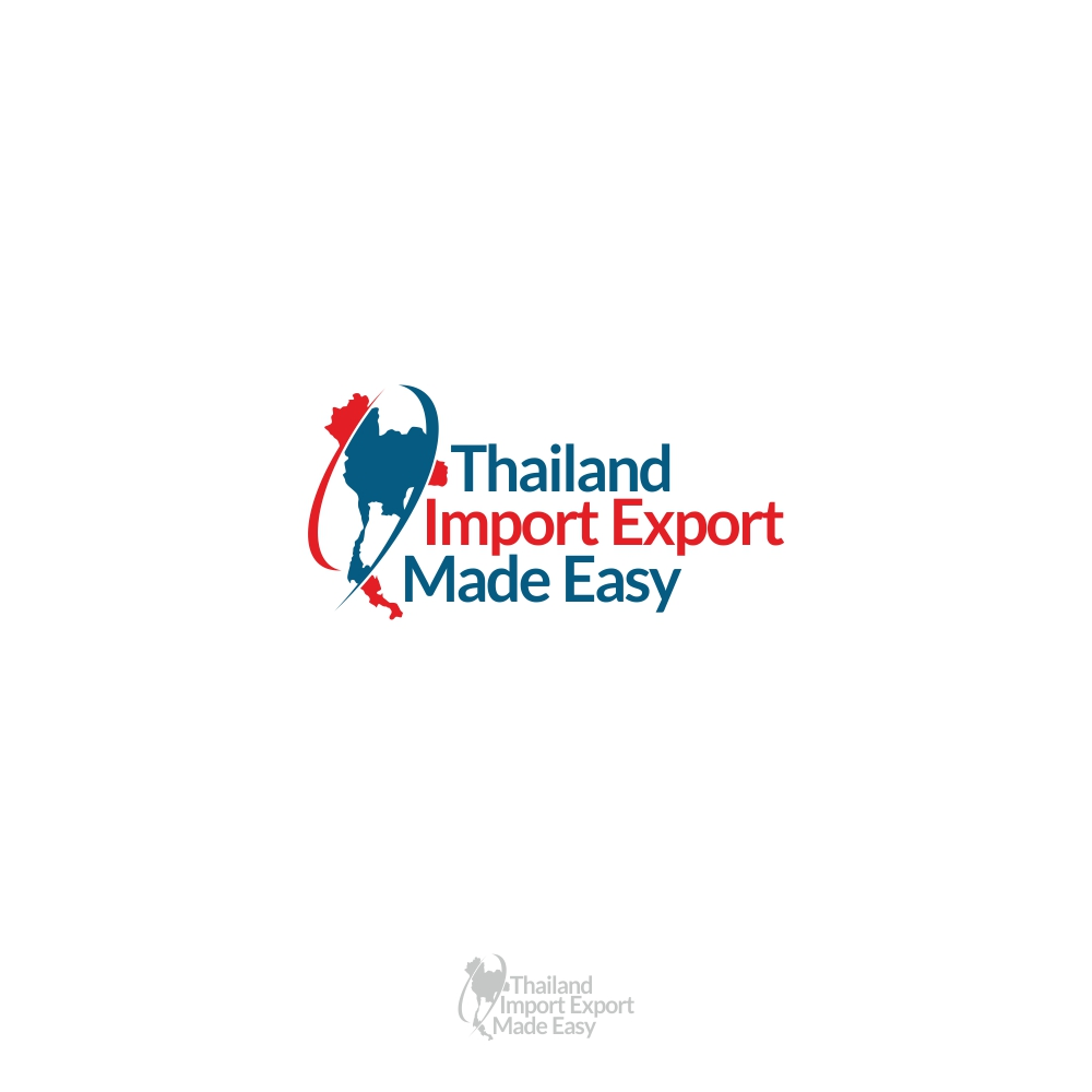 Bold, Modern Logo Design for Thailand Import Export Made
