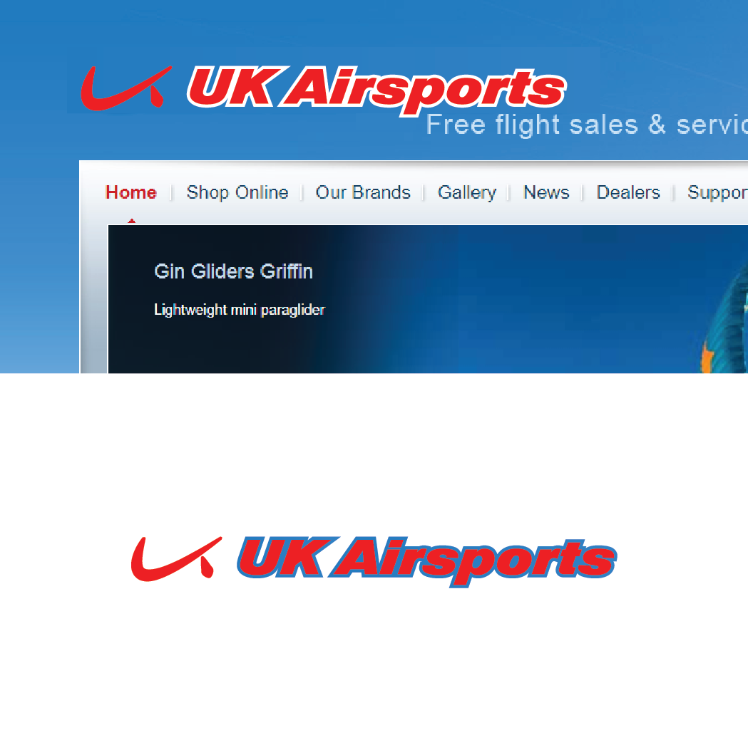 Modern Bold Sporting Good Logo Design For Uk Airsports By Design