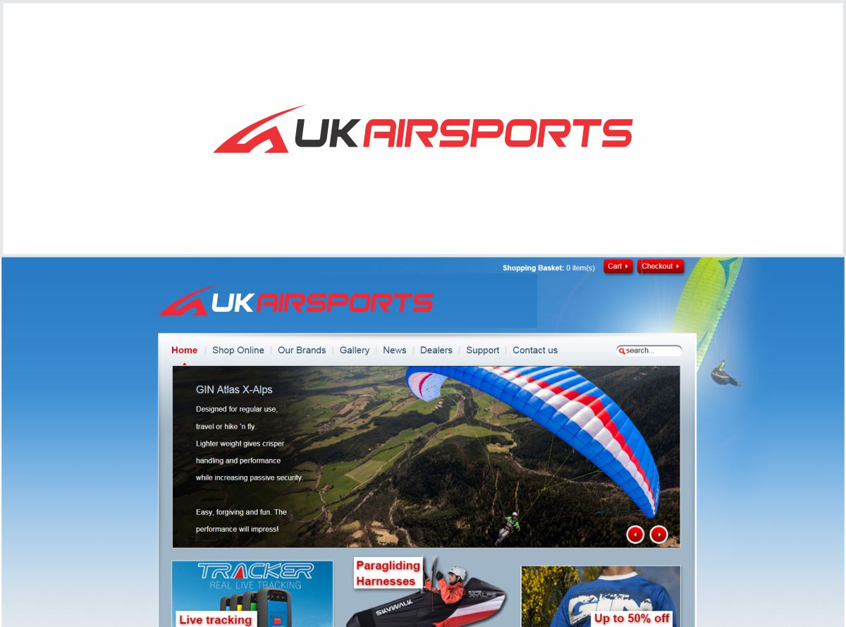 Modern, Bold, Sporting Good Logo Design for UK Airsports by Toto ...