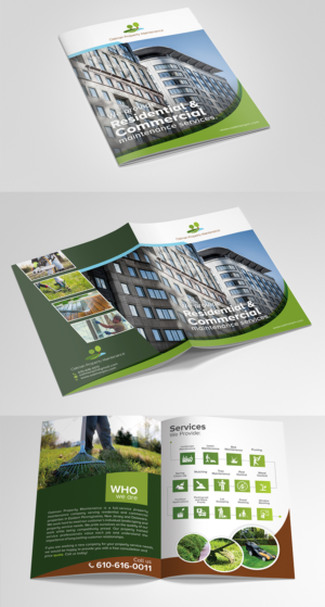 brochure design samples