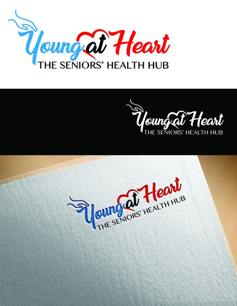 Personable elegant health care logo and business card design for logo and business card design by artkista for young at heart design 17665178 colourmoves