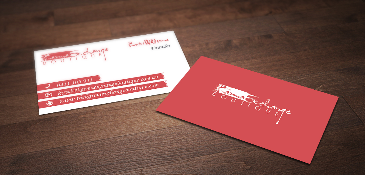Conservative, Upmarket, Boutique Business Card Design for a Company ...