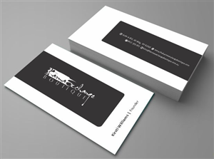 49 conservative upmarket boutique business card designs for a business card design design 2757234 submitted to the karma exchange boutique reheart Choice Image
