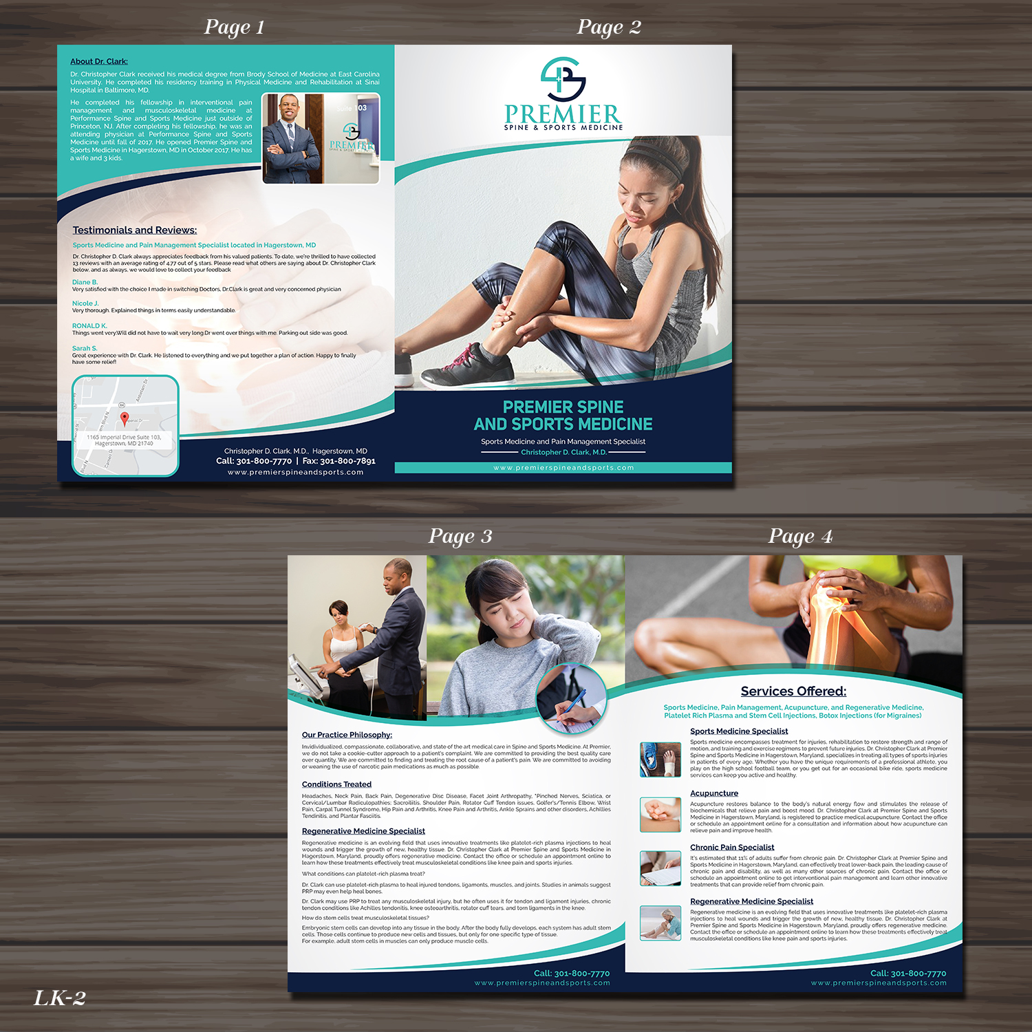 Modern, Upmarket, Health And Wellness Flyer Design for