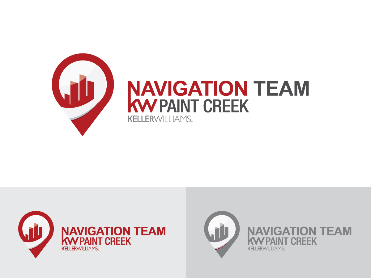 Modern Bold Real Estate Logo Design For Navigation Team Also Has
