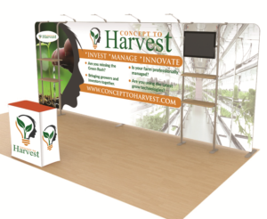 Trade Show Booth Design by Deziner Zone