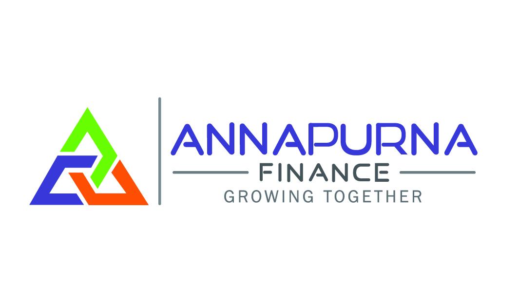 bold  professional  finance logo design for annapurna