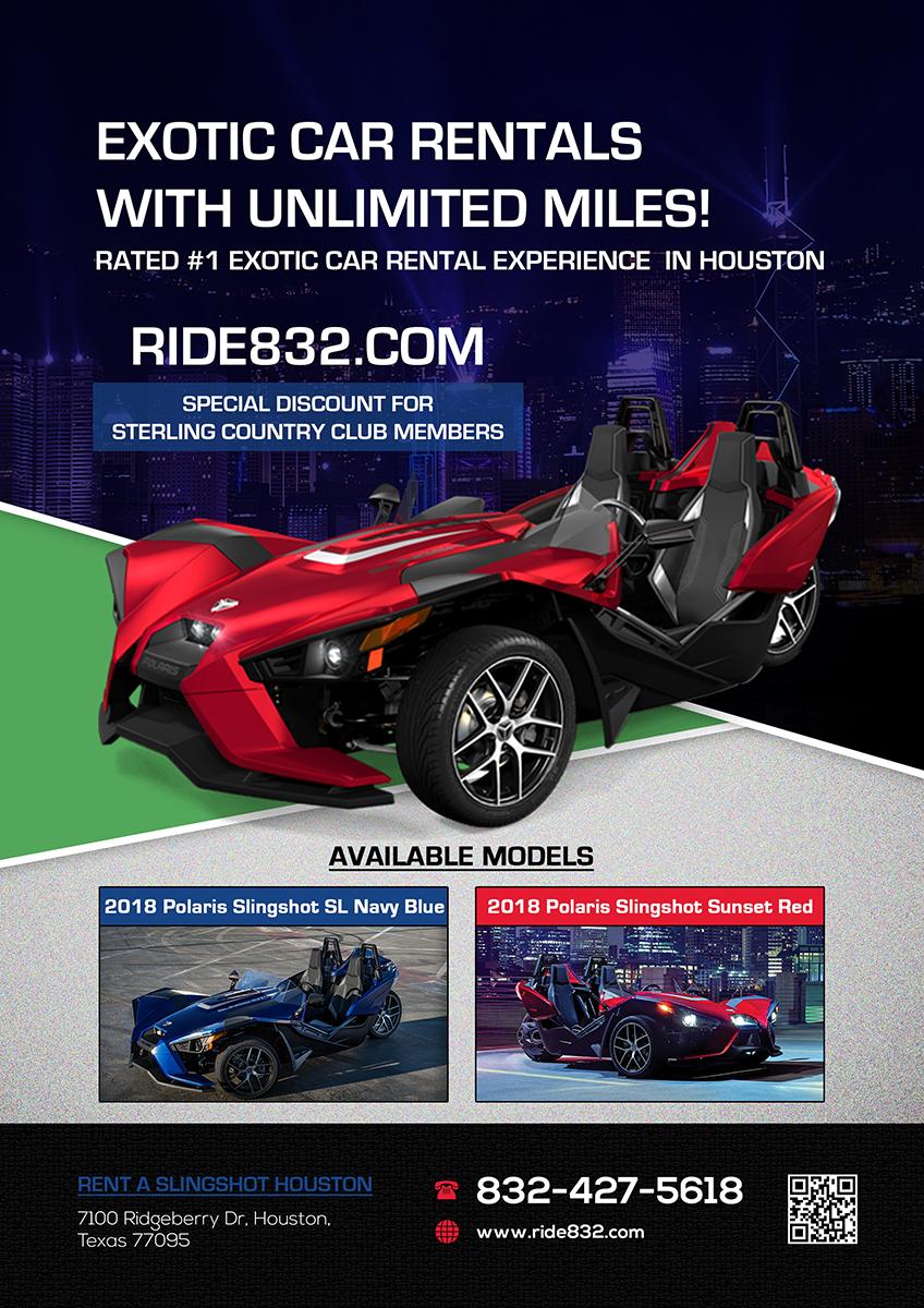 Rental Car Houston >> Elegant Upmarket Rental Car Advertisement Design For Houston