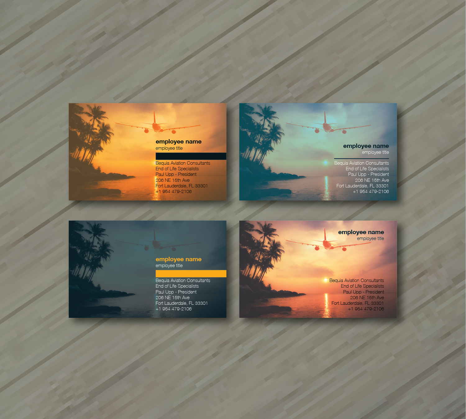Professional upmarket aviation business card design for bequia business card design by balayat843 for freedom path marketing design 17689846 colourmoves
