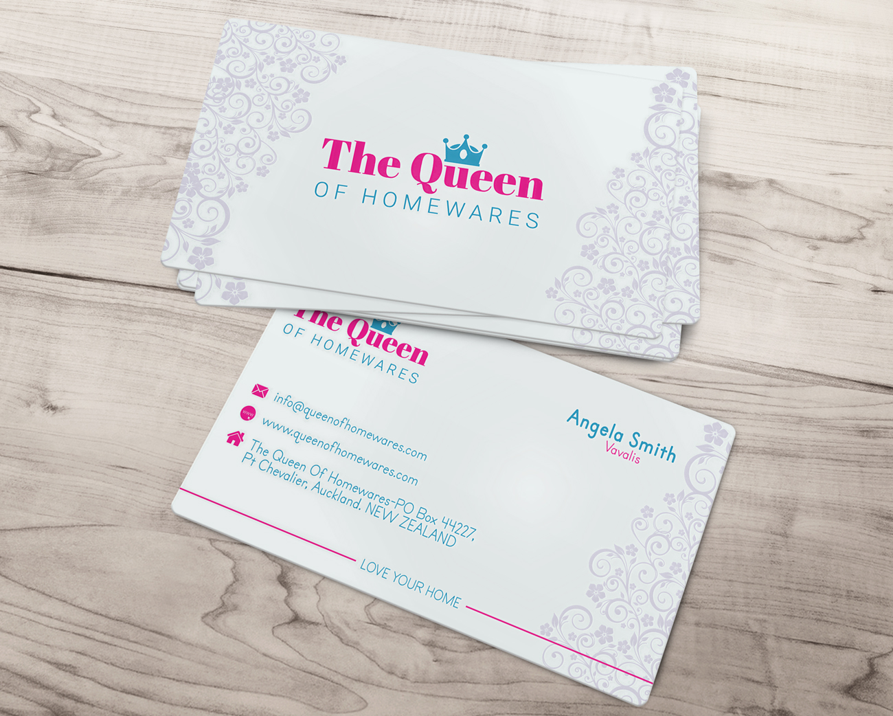 Upmarket Bold Business Card Design For Queen Of Homewares By 43775 17687905  3202669 8cdcdb28 Image 17687905. Kitchen Party Invitation Cards Design