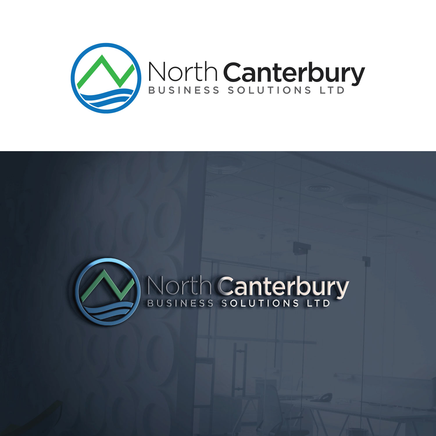 Modern Professional It Company Logo Design For Concept: Modern, Professional, Accountant Logo Design For North