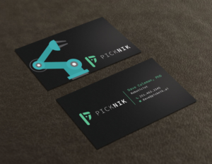 Modern playful business card design job business card brief for business card design job robotic startup business cards winning design by avanger000 reheart Choice Image
