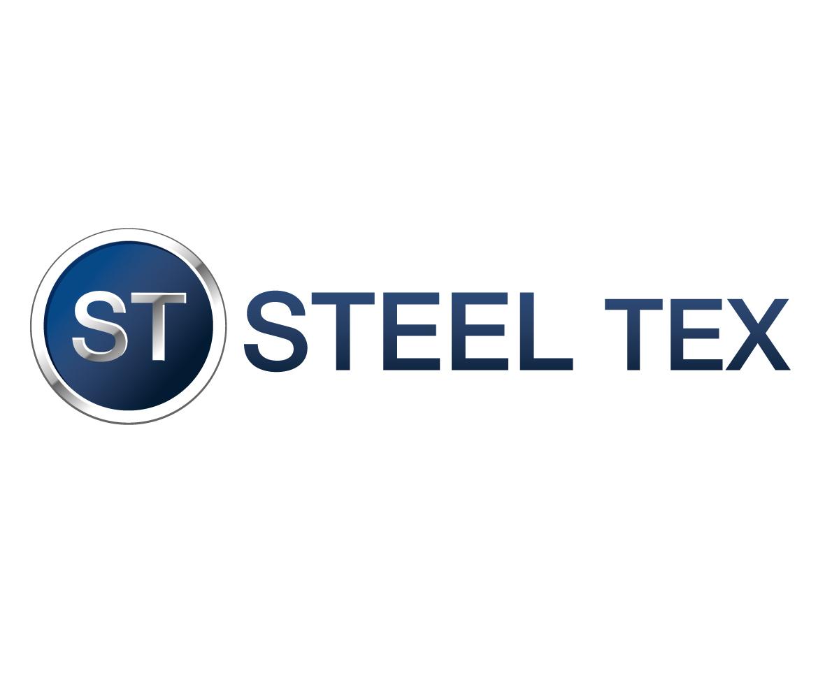 Bold, Masculine Logo Design for steel tex llc. by Jay Design ...