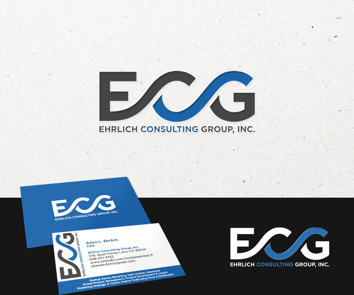 Upmarket bold healthcare logo and business card design for ehrlich logo and business card design by novita007 for this project design 2985086 reheart Gallery