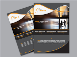Brochure Design Contest Submission #691322