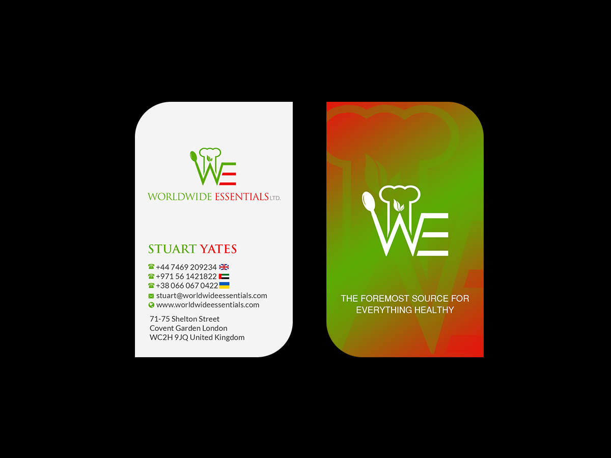 Serious professional food service business card design for a business card design by creations box 2015 for this project design 17737035 colourmoves