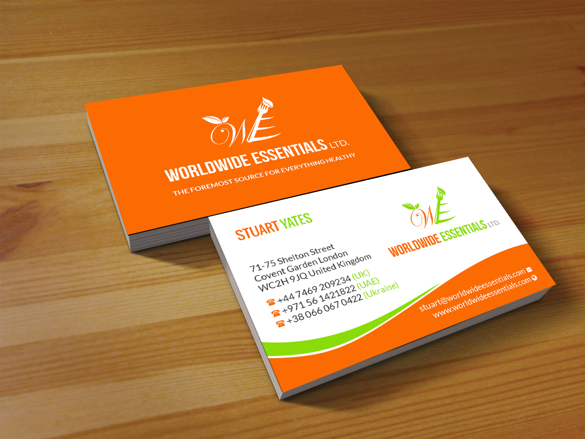 Serious professional food service business card design for a business card design by creations box 2015 for this project design 17737041 colourmoves