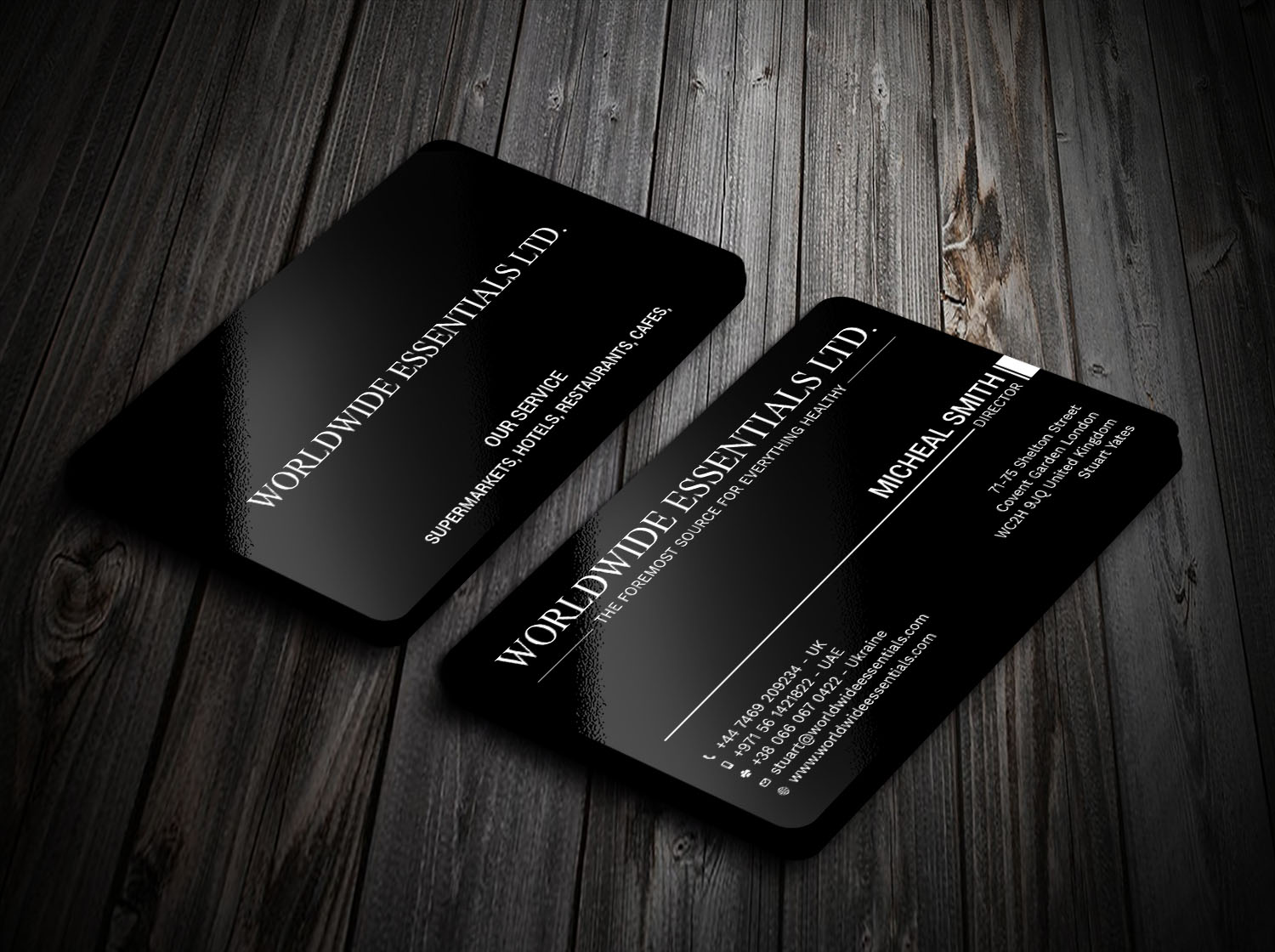 Serious professional food service business card design for a business card design by avanger000 for this project design 17710227 colourmoves