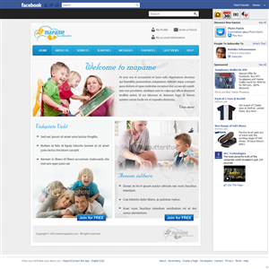 Facebook Design by pb