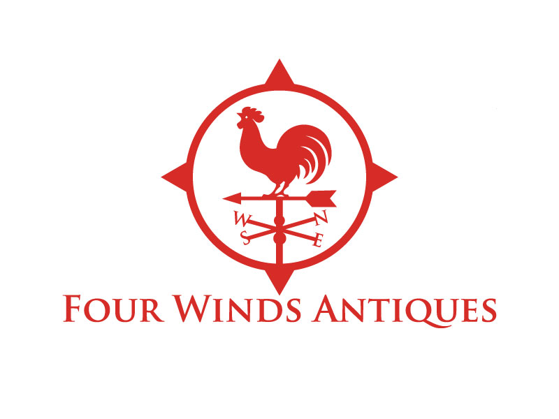 Traditional Conservative Retail Logo Design For Four Winds