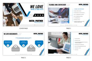 powerpoint design by sd webcreation for daten_partner gmbh design 17822046 - Firmenprasentation Muster