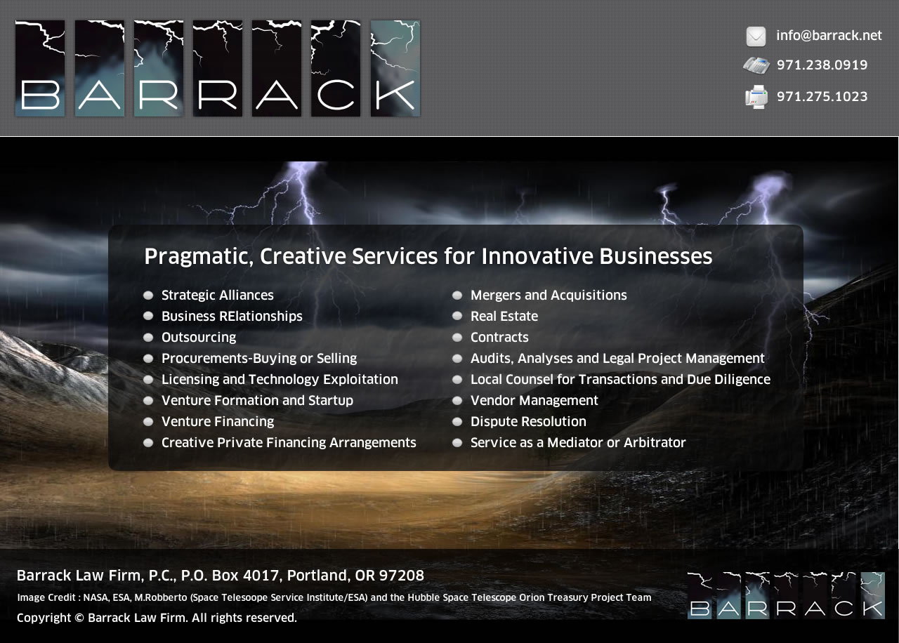 Bold, Serious, Business Web Design for a Company by