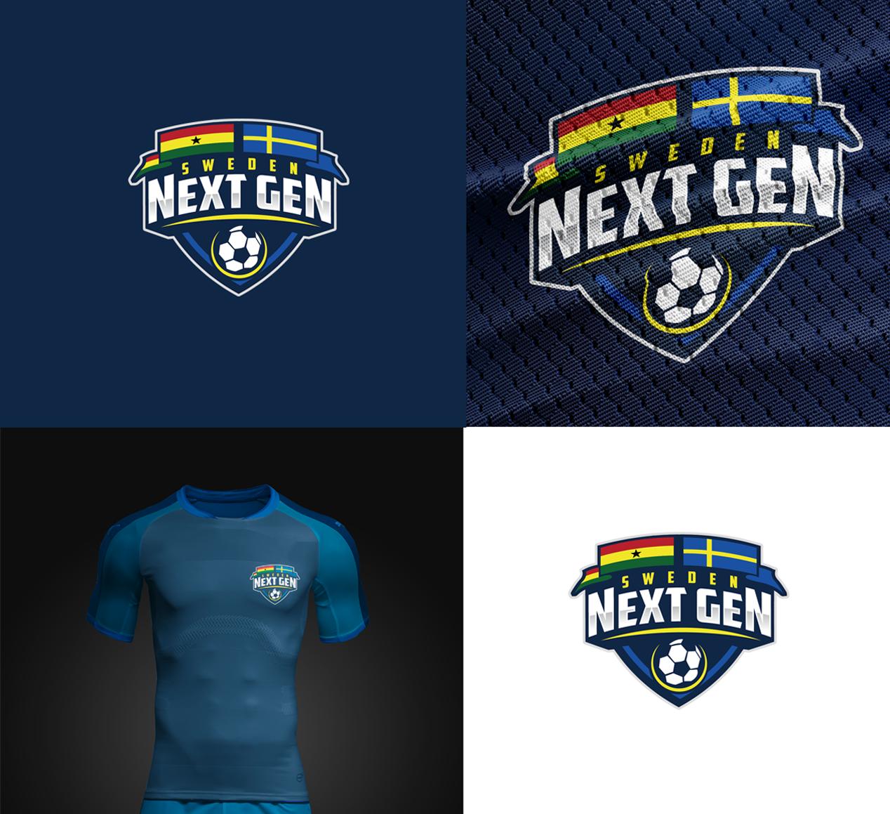 Logo Design for a Next Gen Sweden Soccer Academy by NenadM