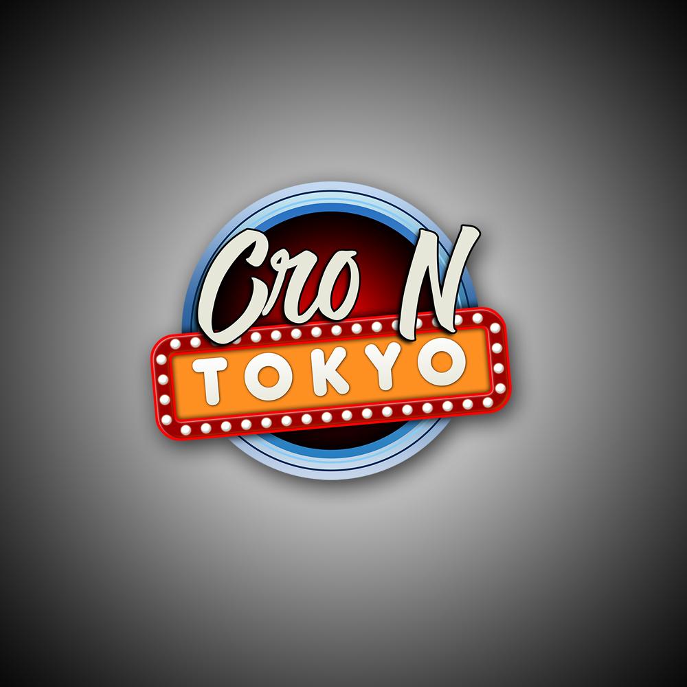 Cro N Tokyo YouTube Logo Design by Steven Bird 2