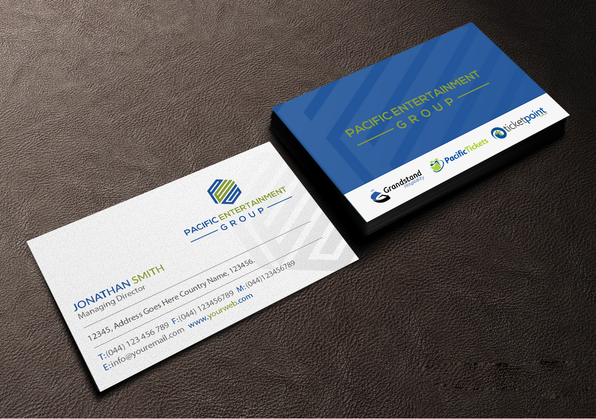 108 Double Business Card Designs | Business Business Card Design ...