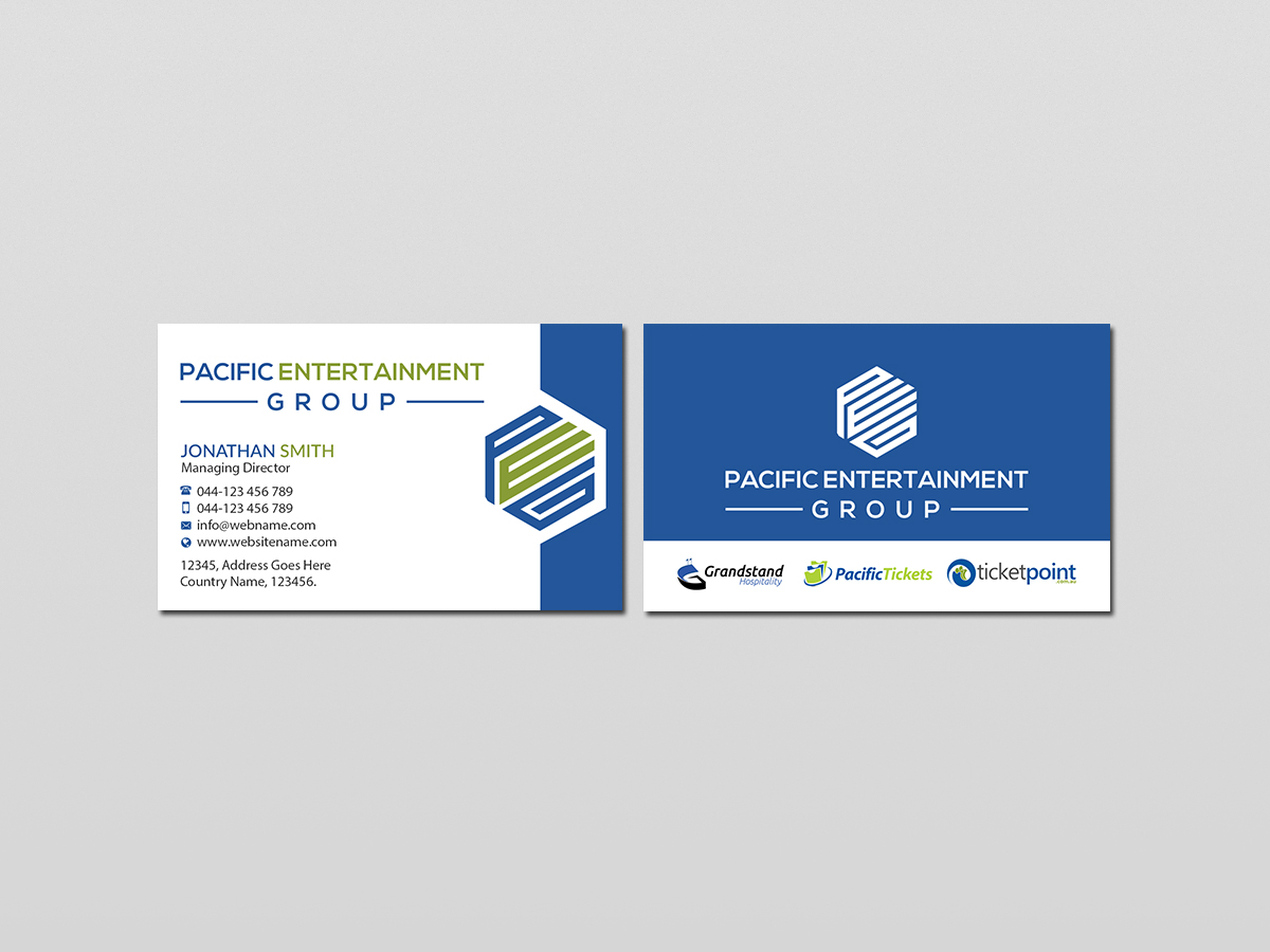 Business business card design for pacific tickets by creations box business business card design for pacific tickets in australia design 17725975 reheart Choice Image